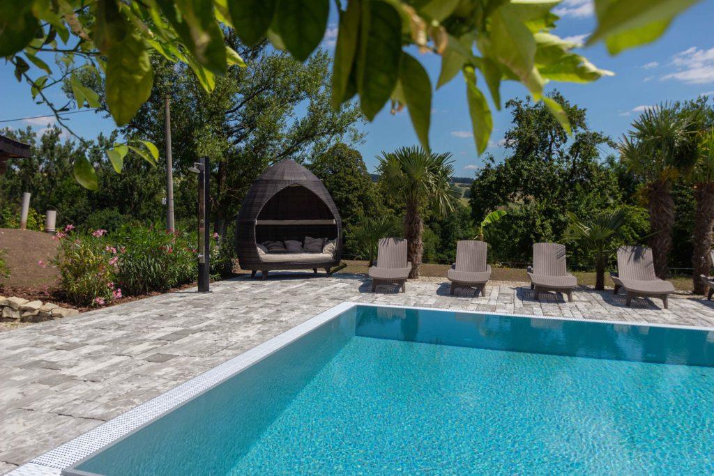 apartmány na dařilce- bazén, relaxace